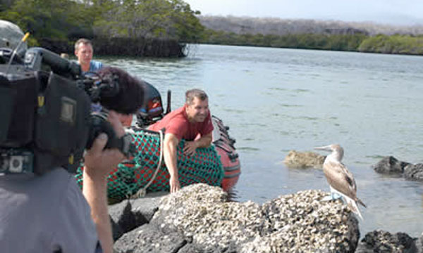 Galapagos Filming Wildlife